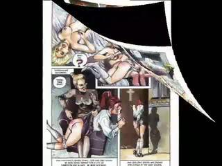 desenhos animados, história em quadrinhos