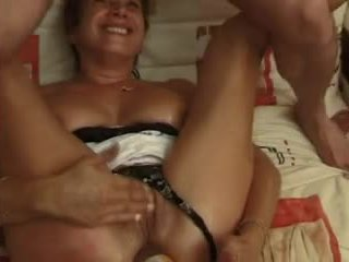 FRENCH MATURE 10 blonde anal mom milf ...
