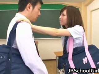 Cute New School Student Rico Yamaguchi