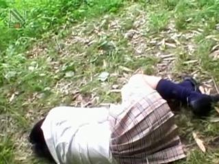 Fragile Asian Schoolgirl Getting Brutally Fucked Outdoor