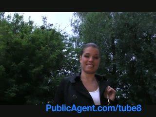 PublicAgent Amazing sex on a public go...