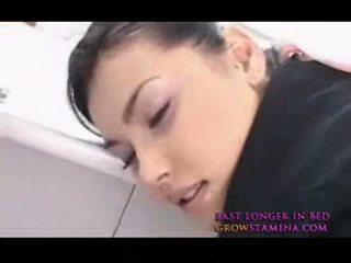 Maria ozawa hot asiatisk stewardes knulling fra bak 2