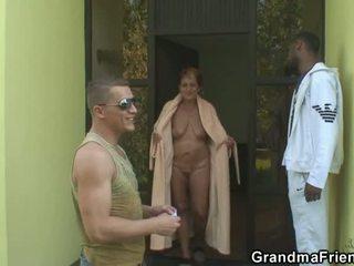 Two males invited untuk bertiga semua lebih lama harlot