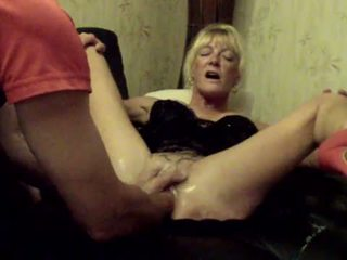 Annabelle dangel double 拳交 的陰戶 extrem hole dilation