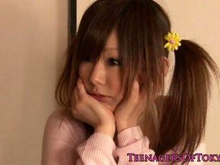 roztomilý, mladý, japonec