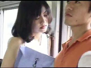 japonez, sex, tren