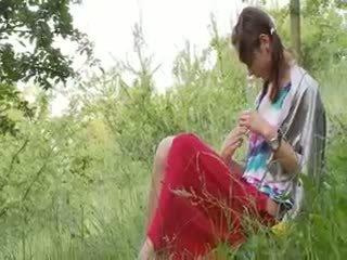 Latvian Natashas Back To Nature