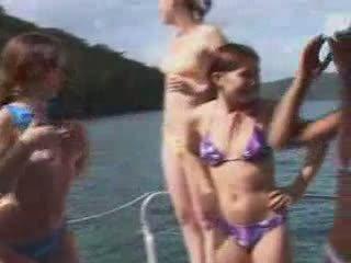 boat, car, nudist