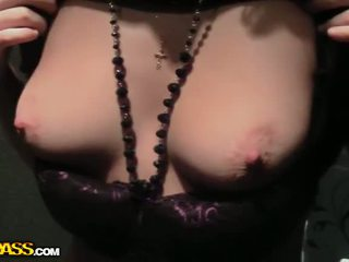 Real pick up fuck with sexy brunette Video