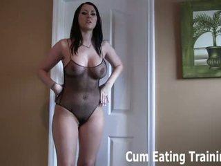 Sie are ein heiß wenig wichse eating fick junge cei