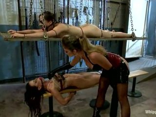 Bryn Blayne And Brandy Aniston Has Used By Lesbian Domme