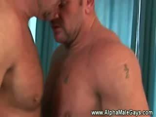 Diwasa kandang jaran seduces a homo by showing off