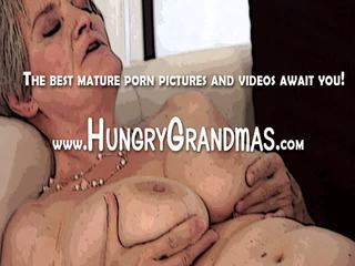 Grandma Is Hungry For Cock