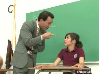 student, rozkošný, plácnutý