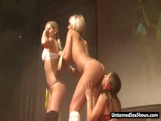 great toys, full show clip, ideal striptease