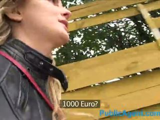PublicAgent Hot Canadian blonde fucks a big cock for cash - Porn Video 871