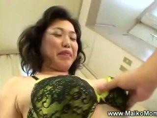 Rubbing vyzreté maikos chlpaté pička
