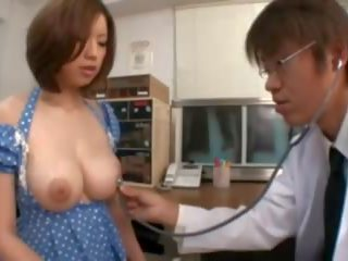 Busty Asian get Nipples Sucking in the Hospital: Porn 8f