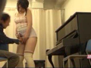 Ayna seksi lateks eldiven arap asyalı kız öğrenci