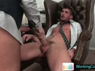 Shane does some serious gay dick sucking
