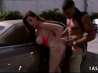 Car Wash With Fat Ass Mature Sara Jay