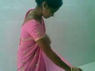 Telugu rosa saree