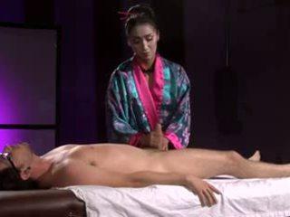 Lepo azijke geisha (full masaža s z nogo)
