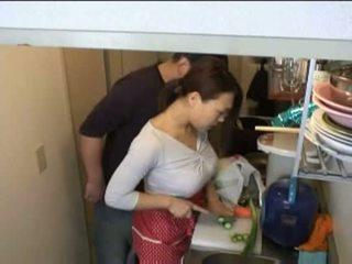 hausfrauen, küche, xvideos