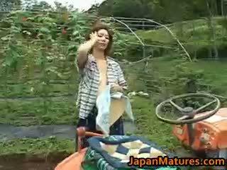 Chisato shouda azjatyckie dojrzała laska gets part6