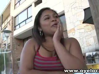 Oyeloca Amateur chubby latina Lorena Lobos banged