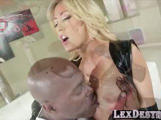 Blondie duży cycki capri cavanni gets destroyed przez lexington steele