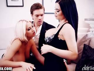 Daringsex cumswapping žena žena muž trojice