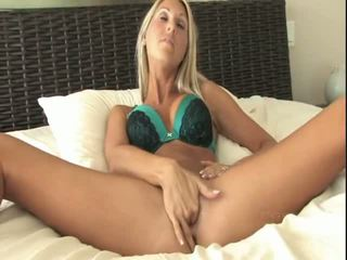 softcore, nude on her knees, girl plays with her self
