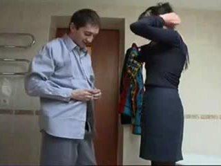 Ρωσικό ώριμος/η σκληρό σεξ