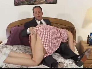 bruneta, orální sex, double penetration