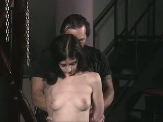 folter, nackt, mädchen