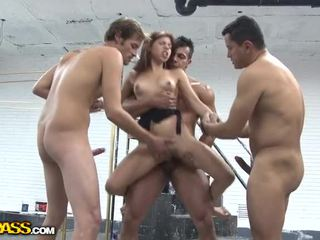Passioneel babe in hardfuck film video-