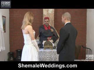 Μείγμα του carla, tony, alessandra με τραβεστί weddings