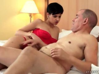 брюнетка, hardcore sex, oral sex