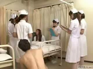 Megáll a idő hogy fondle japán nurses!
