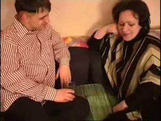 Rusiškas mama ir sūnus storas