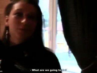 Een trap voor sexy trut meisjes video-