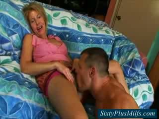 Sixty plus milf sucking Cock verry Pretty