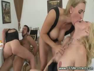 CFNM whores fucking a watier