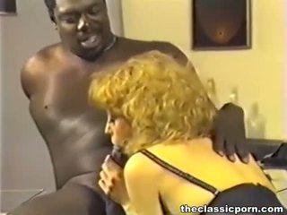 porn stars, vintage, interracial
