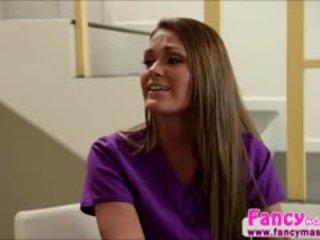 Beautiful And Blonde Abby Cross Relieves Amanda Tates Stress