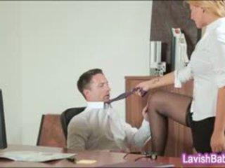 办公室 孩儿 anna polina banged 实 良好