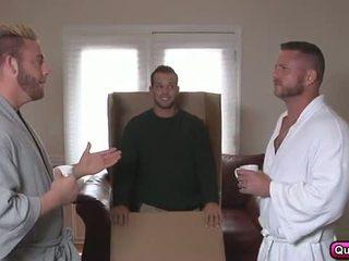 Anal Sex Gay Daddies Hardcore Threesome