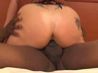 Interracial BBC Creampie Fuck, Free Interracial Fuck Porn Video