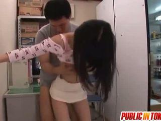 hardcore sex, japonés, sexo en público